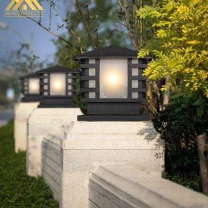 Ứng dụng đèn trụ cổng tường rào HGA TA 52