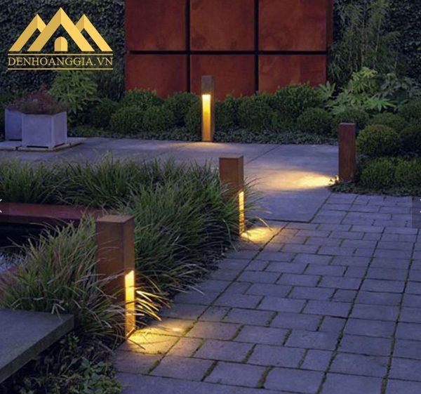 Đèn trụ sân vườn có nhiều màu ánh sáng khác nhau như trắng, vàng, trung tính để khách hàng lưa chọn