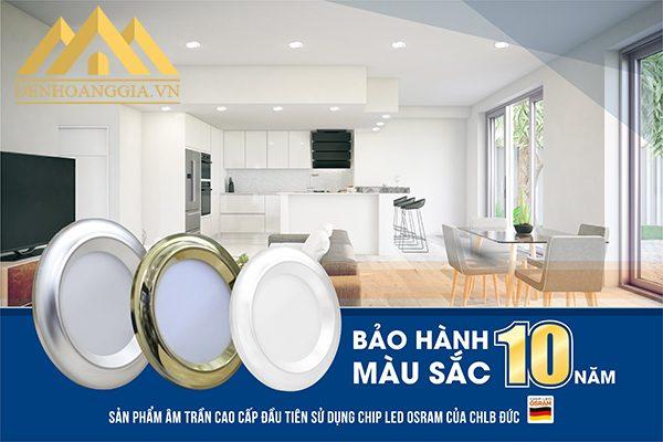 Thiết kế đa dạng mẫu mã, kích thước và công suất đèn led âm trần mặt cong Nano được ứng dụng vào nhiều công trình nội thất như nhà ở, chung cư, khạch sạn...