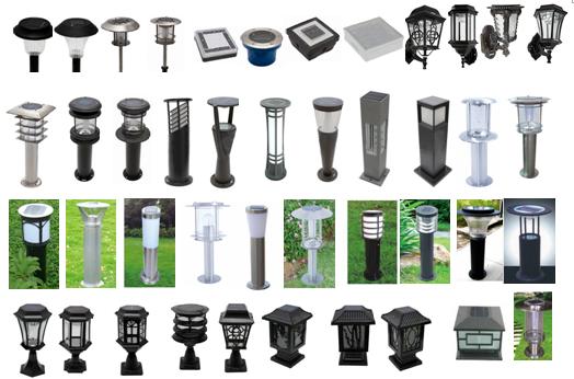 Tổng hợp các kiểu dáng đèn trụ sân vườn đẹp