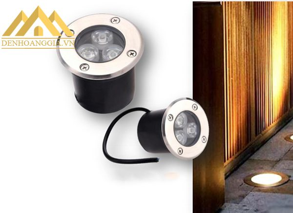 Cấu tạo đèn âm sàn ngoài trời đạt tiêu chuẩn IP 65 chống bụi bẩn, nước hoàn toàn nên hoạt động ổn định ở môi trường dưới đất, sàn nhà