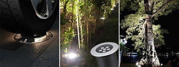 Thiết kế đèn led âm đất 5w vuông có thể chịu được mọi áp lực từ tác động ngoài môi trường
