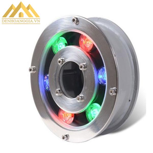 Ánh sáng tỏa ra từ đèn led âm nước bánh xe 9w không chứa các tia độc hại