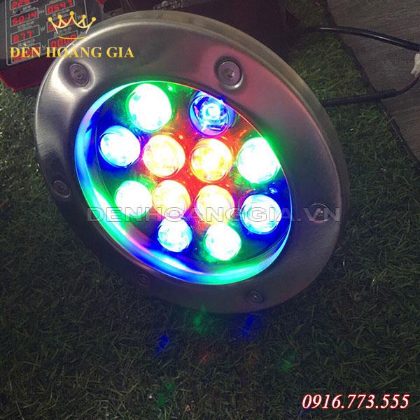 Đèn âm nước 7 màu / đổi màu