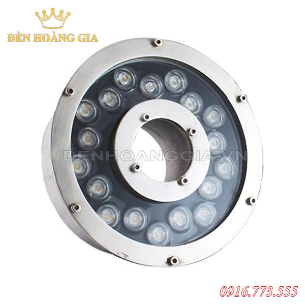 Đèn led âm nước bánh xe 18w