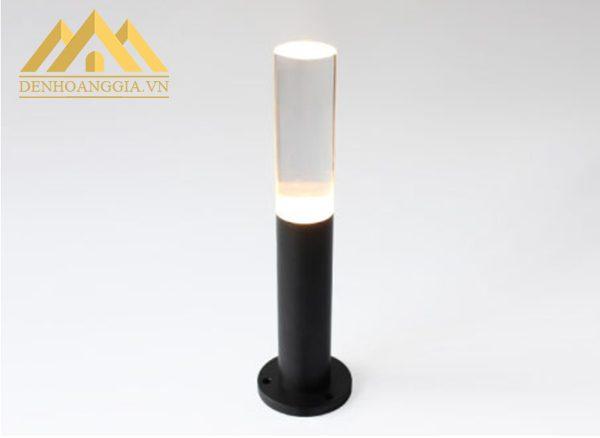 Đèn trụ sân vườn HGA-TSV49 thiết kế đơn giản, dễ dàng lắp đặt