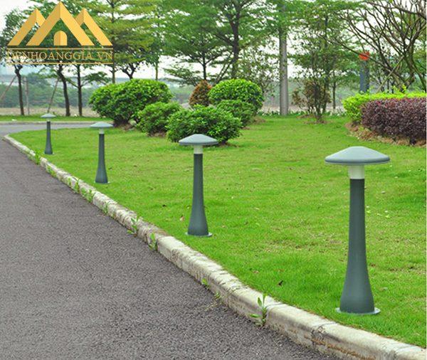 Đèn trụ sân vườn HGA-TSV86 được ứng dụng vào nhiều không gian như công viên, sân vườn, khu vui chơi công cộng...