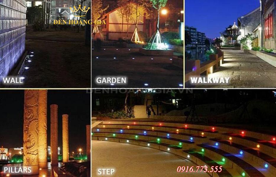 Việc bố trí đèn led âm sàn âm đất cần có kế hoạch từ trước khi lắp đặt