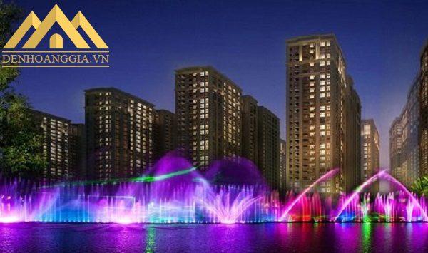 Đèn led âm nước spotlight 12w dạng đế đa dạng về màu sắc ánh sáng nên được ứng dụng vào nhiều không gian khác nhau như hồ nước, bể bơi, đài phun nước...
