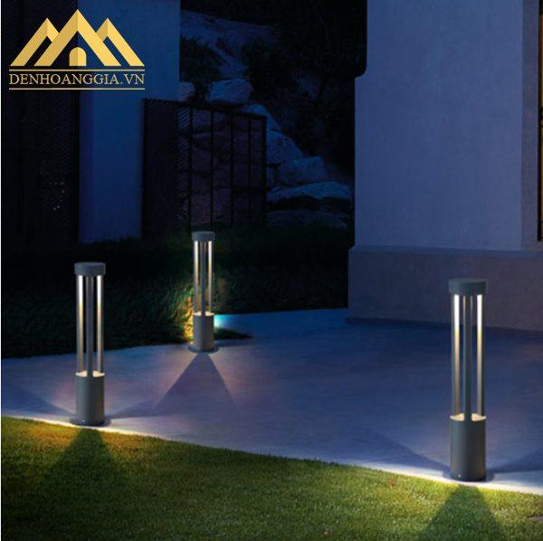Sử dụng đèn trụ sân vườn HGA-TSV39 chiếu sáng quanh nhà