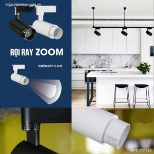 Đèn led rọi ray Zoom