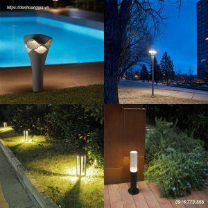 Đèn trụ sân vườn, cột đèn