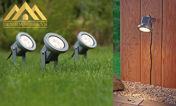Đèn cắm cỏ chiếu sáng bãi cỏ