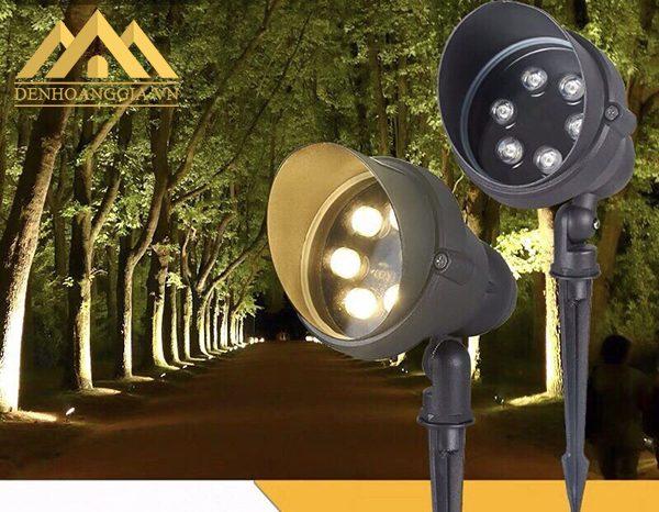 Đèn cắm cỏ sử dụng chip led cao cấp của Mỹ - Chip Cree