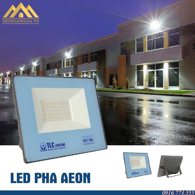 Ứng dụng đèn led pha Aeon