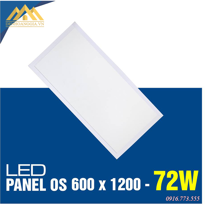 Đèn led panel OS 600x1200 72w TLC