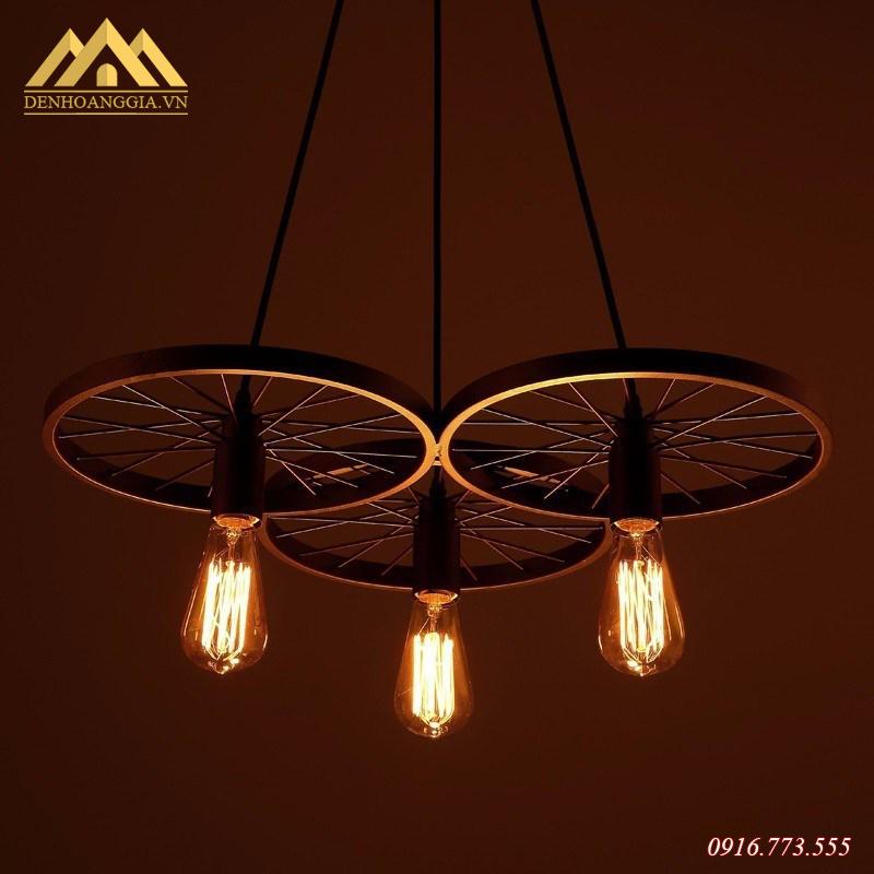 Đèn thả trần 3 bánh xe HGA-TH020-3-MC