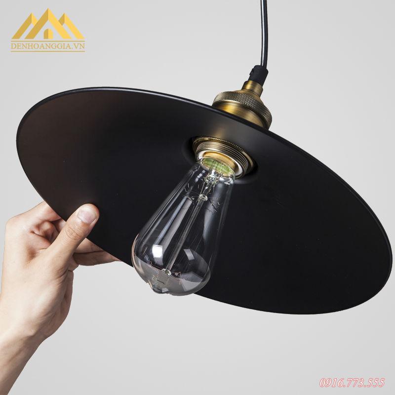 Đèn thả trần hợp kim HGA-TH068