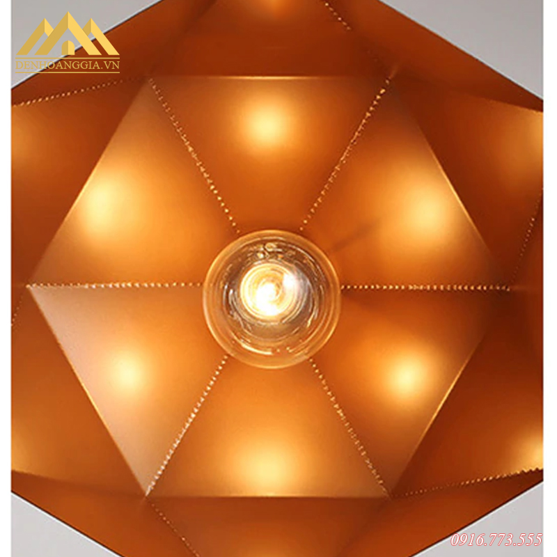 Đèn thả trần hợp kim HGA-TH241-MC