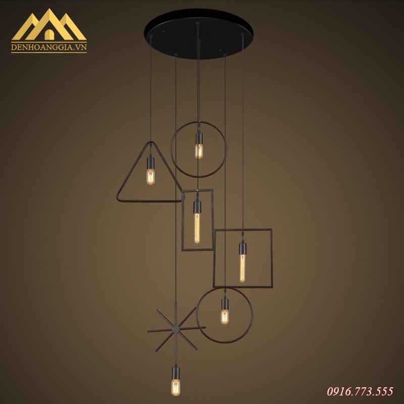 Đèn thả trần hình học HGA-TH036-MC
