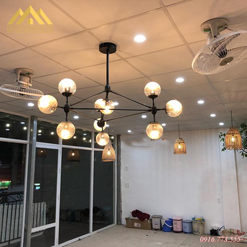 Đèn thả trần trang trí Rolux-THĐ038