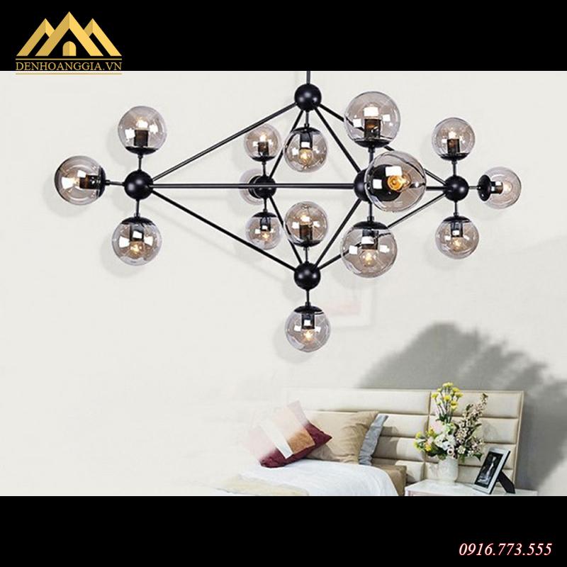 Ứng dụng của đèn thả trần trang trí Rolux-THĐ040