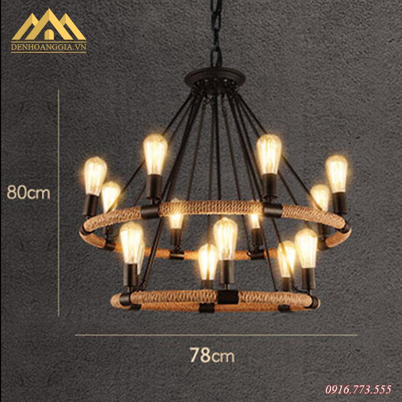 Đèn thả trần trang trí Rolux-THĐ058