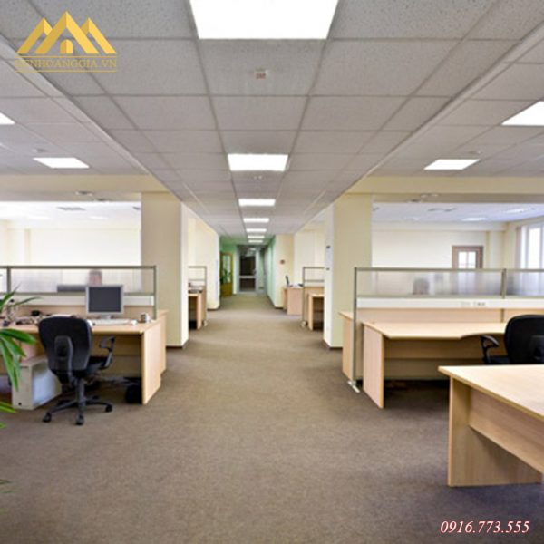 Đèn led âm trần panel 600x600 được ưu tiên lựa chọn cho các không gian lớn