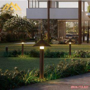 Ứng dụng của đèn trụ sân vườn HGA-TSV42