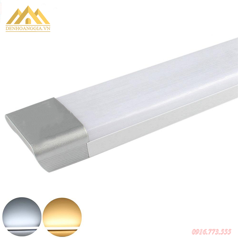Đèn tuýp led hộp có hai loại màu ánh sáng trắng hoặc vàng