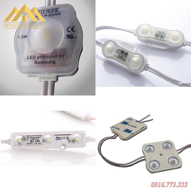 Các loại đèn led hắt module