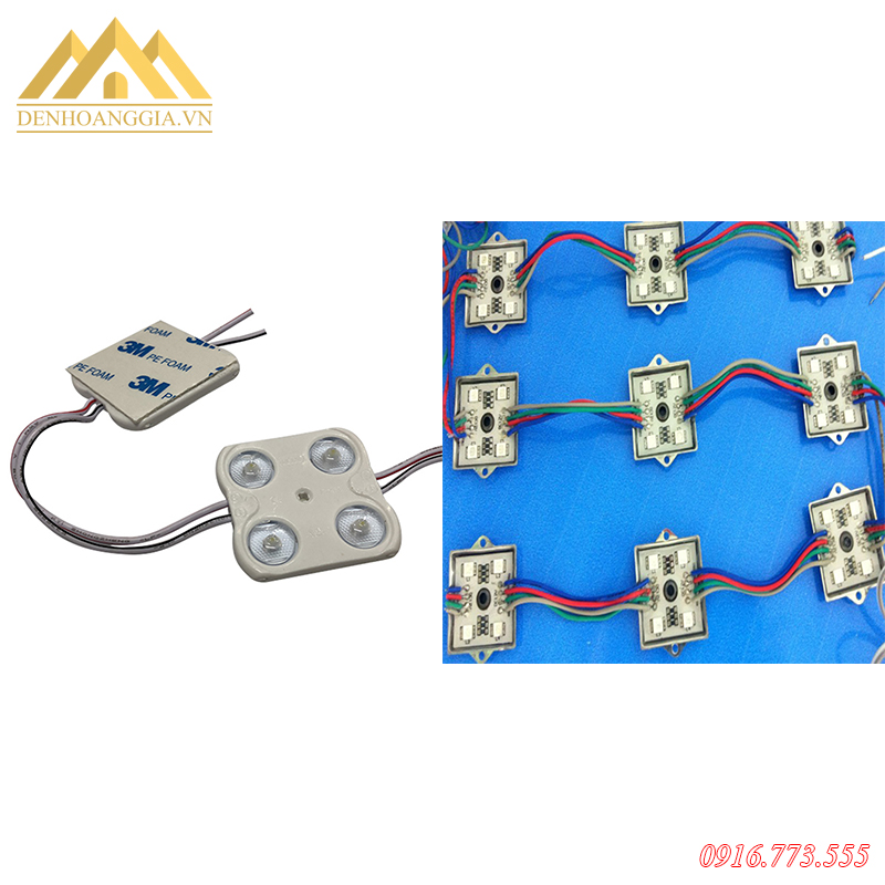 Cách lắp đặt đèn led Module