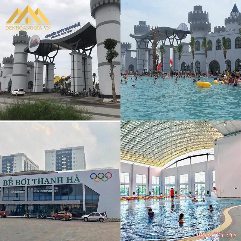 Dự án bể bơi - công viên nước Thanh Hà