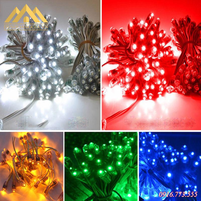 Các màu sắc ánh sáng của đèn led đúc - led hạt