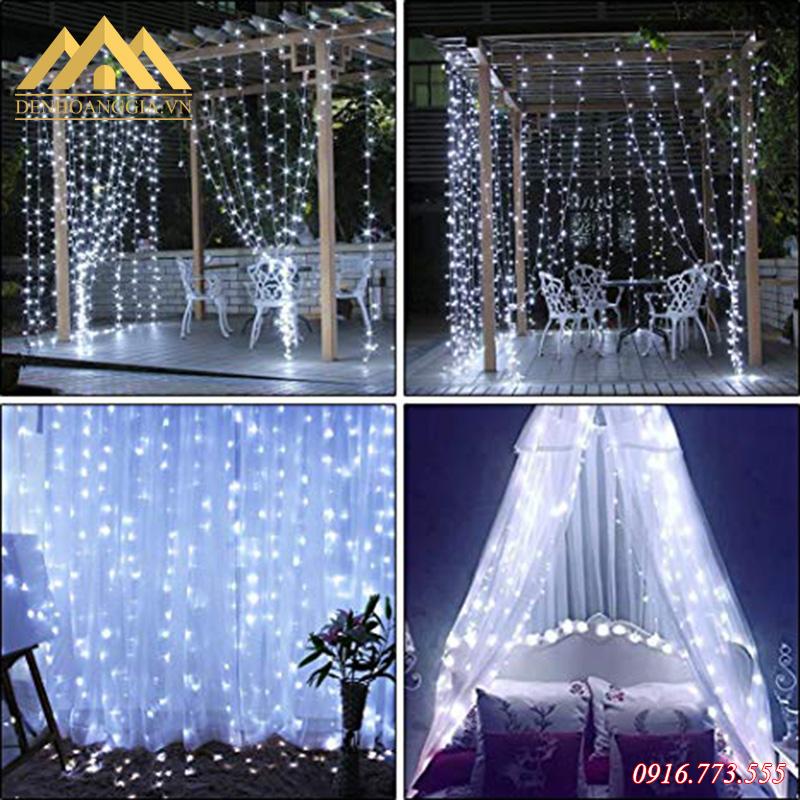 Một số hình ảnh của đèn led rèm - mành