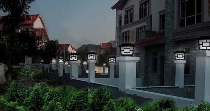 Sử dụng mẫu đèn trụ cổng giá rẻ rất mau hỏng, chất lượng ánh sáng kém, suy giảm nhanh