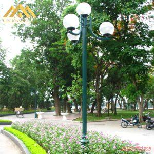 Ứng dụng cột đèn trụ sân vườn Nouvo
