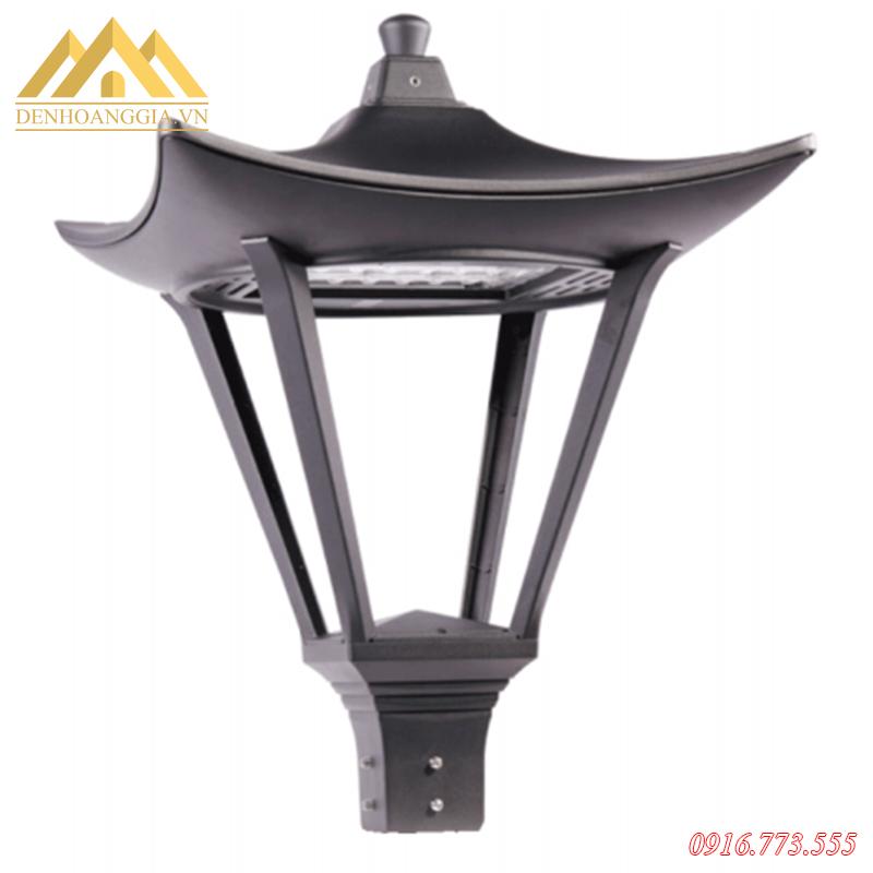 Đèn trụ sân vườn Rolux-TSV58 thiết kế theo phong cách giả cổ