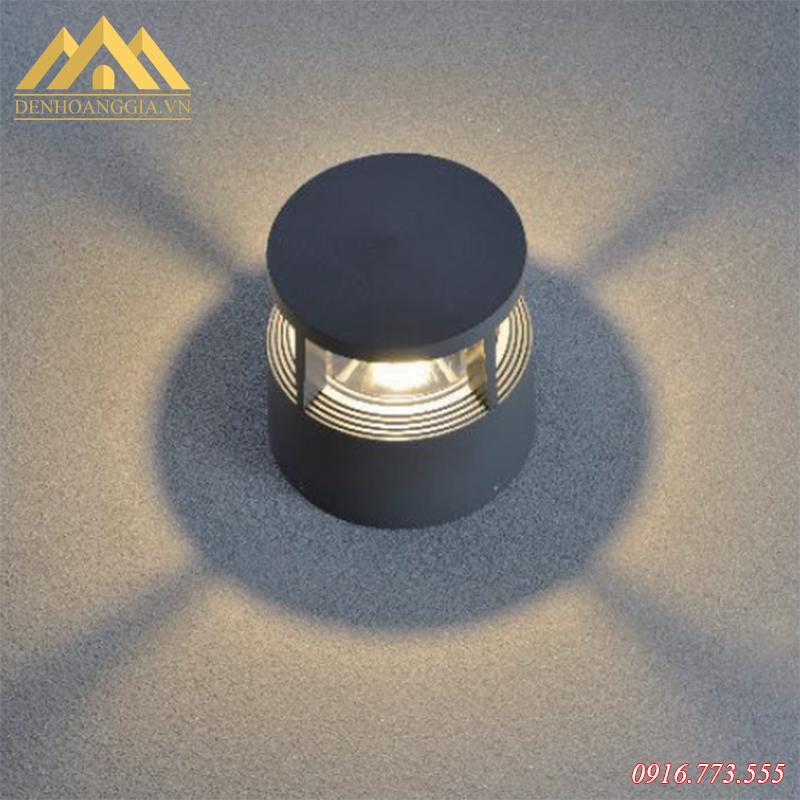 Đèn trụ sân vườn nấm HGA-TSVM10 có nguồn ánh sáng tự nhiên, không chói lóa