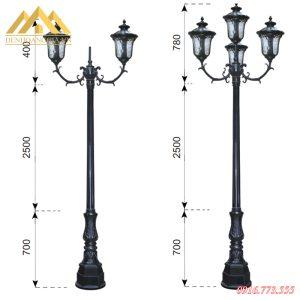 Đèn trụ sân vườn HGA-TSV0028