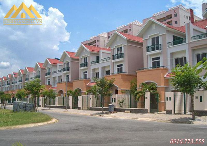 Dự án biệt thự liền kế, nhà thấp tầng ở khu đô thị Thanh Hà