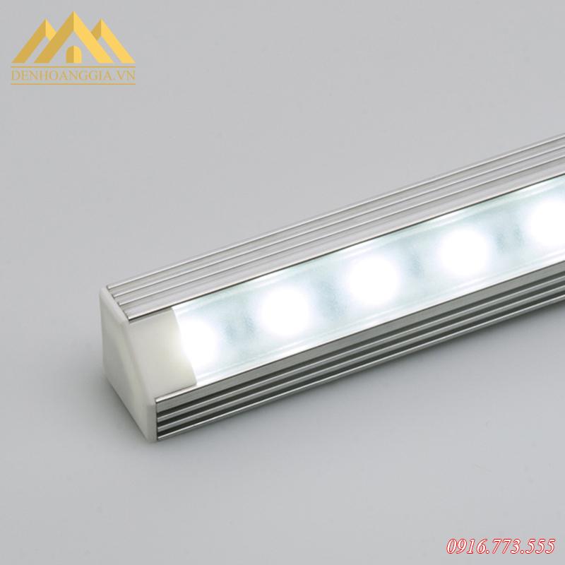Cấu tạo của khung nhôm định hình sử dụng cho đèn led dây