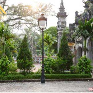 Hình ảnh cột đèn trụ sân vườn HGA-DC05B