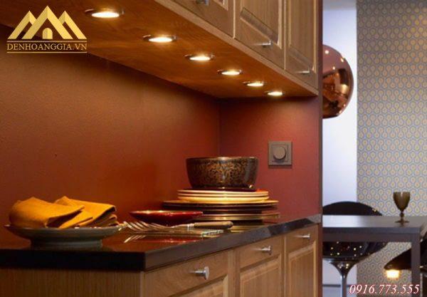 Thiết kế hệ thống đèn led chiếu sáng cho tủ bếp ở KĐT Thanh Hà