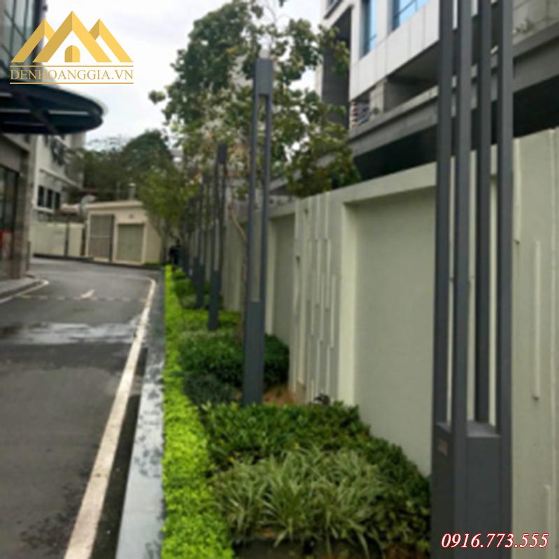 Ứng dụng đèn trụ sân vườn HGA-TSV38