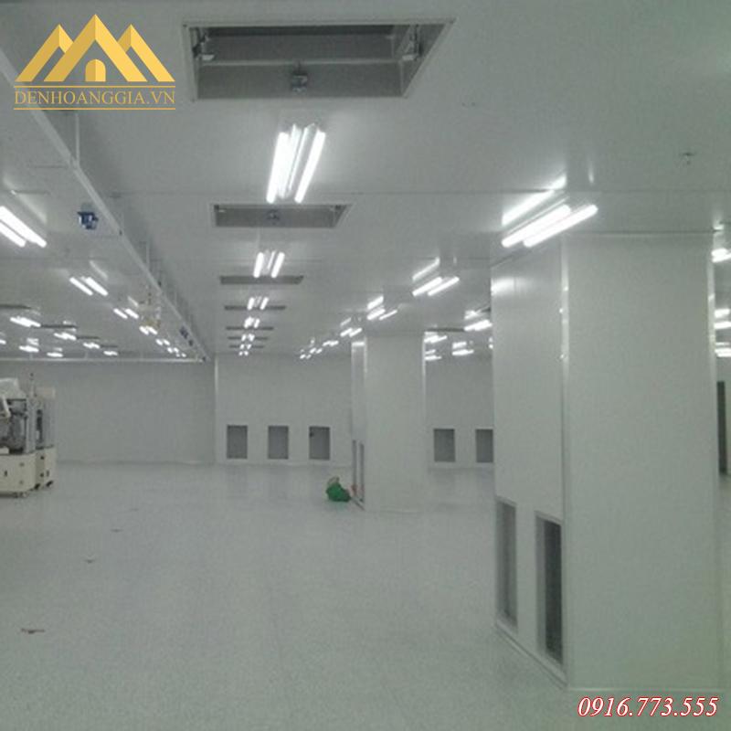 Lắp đặt đèn tuýp led T8 cho nhà xưởng