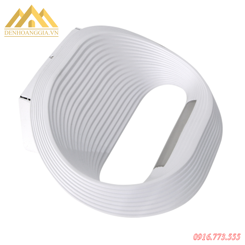 Đèn tường led cao cấp hình tròn 12W vỏ trắng