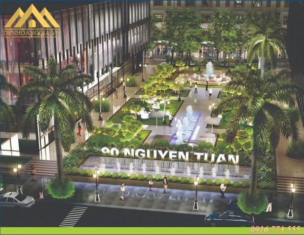 Tổng quan dự án KĐT 90 Nguyễn Tuânn