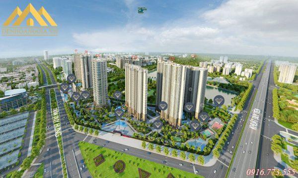 Dự án chung cư Vinhomes D'Capotale Trần Duy Hưng