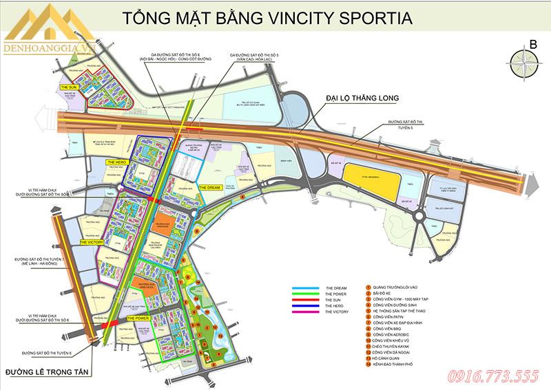 Bản thiết kế dự án Vinhomes Smart City Tây Mỗ - Đại Mỗ
